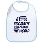 A Boombox Can Change the World Bib