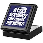 A Boombox Can Change the World Keepsake Box