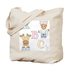 Teddy Tots Alphabet Tote Bag