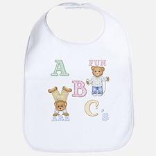 Teddy Tots Alphabet Bib