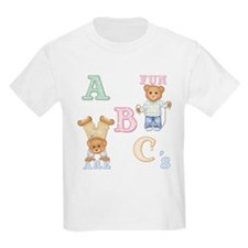 Teddy Tots Alphabet Kids T-Shirt