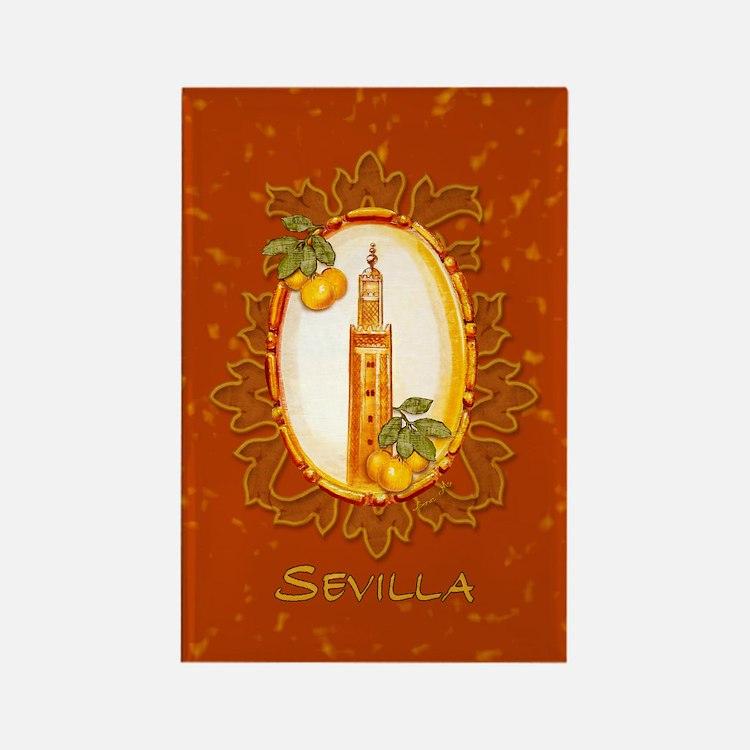 Sevilla / Spain (1) Rectangle Magnet