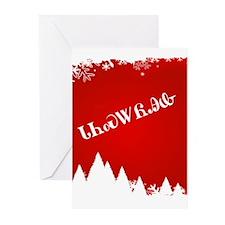 Cherokee Christmas Trees Greeting Cards (Pk of 10)