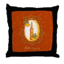 Sevilla / Spain (1) Throw Pillow