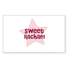 Sweet Rachael Rectangle Decal