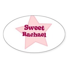 Sweet Rachael Oval Decal