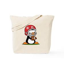 Grid Iron Popo Tote Bag