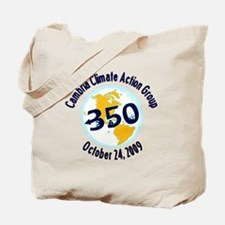 Cute 350.org Tote Bag