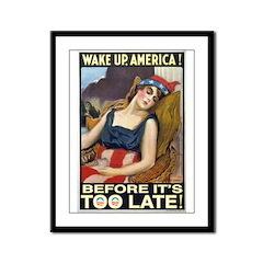 WAKE UP Framed Panel Print