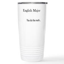 English Major Travel Mug