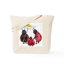 Ladybug Stroll Tote Bag