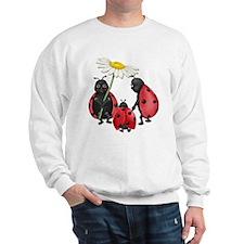 Ladybug Stroll Sweatshirt