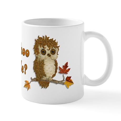 Whoo Me Owl Mug