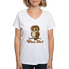 Whoo Me Owl Shirt