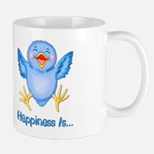 Baby Bluebird Happiness Mug