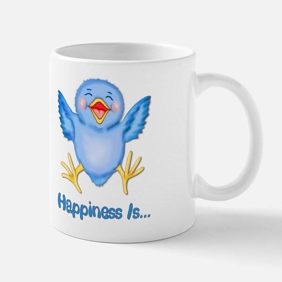 Baby Bluebird Happiness Mug
