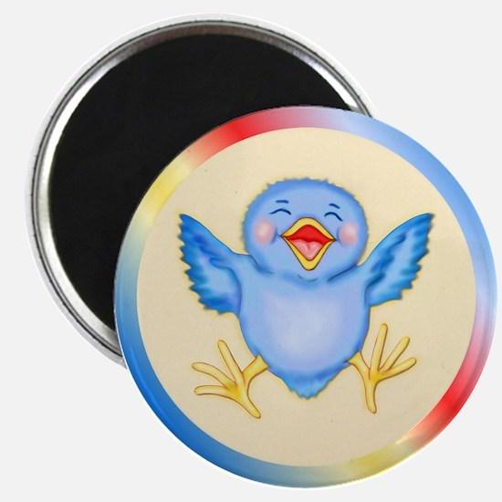 Baby Bluebird Happiness Magnet