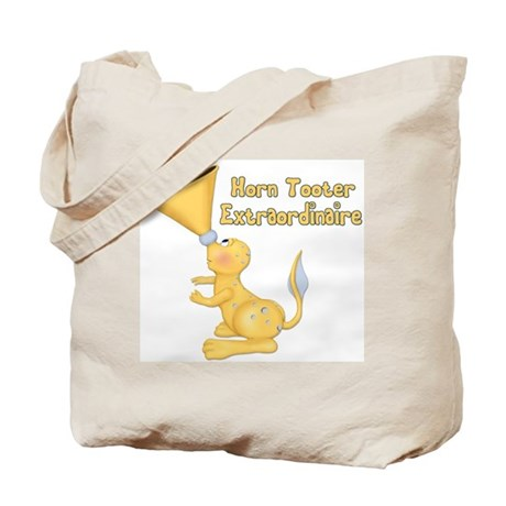 Horn Tooter Tote Bag