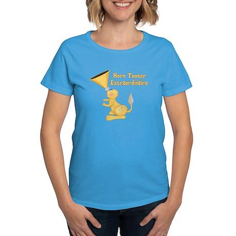 Horn Tooter Women's Dark T-Shirt