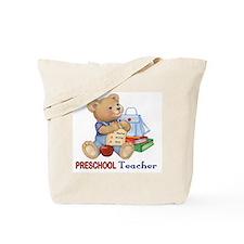 School Days Teddy - Preschool Tote Bag