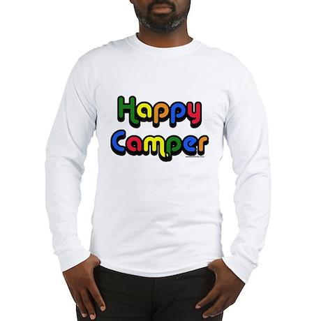 happycamper copy Long Sleeve T-Shirt