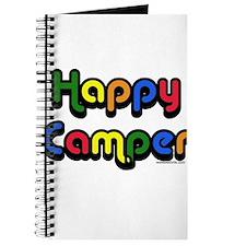 Cute Happy camper t Journal
