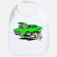 Plymouth GTX Green Car Bib