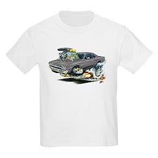 Plymouth GTX Silver/Grey Car T-Shirt