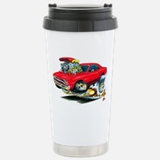 Plymouth GTX Red Car Stainless Steel Travel Mug