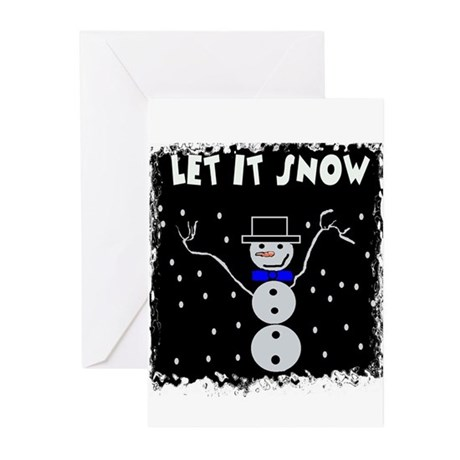 LET IT SNOW Greeting Cards (Pk of 10)