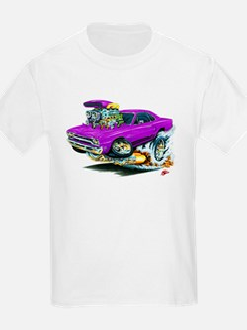 Plymouth GTX Purple Car T-Shirt