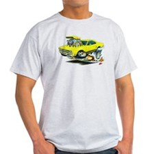 Plymouth GTX Yellow Car T-Shirt