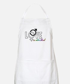 Love is Colorblind BBQ Apron