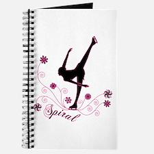 Ice Skating Spiral Journal