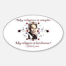 Kindness Oval Decal