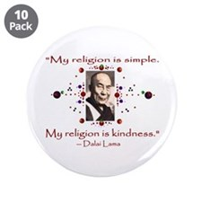 "Kindness 3.5"" Button (10 pack)"