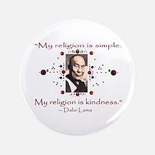 "Kindness 3.5"" Button"