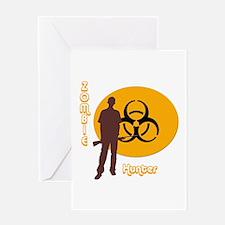 Zombie Hunter 1 Greeting Card