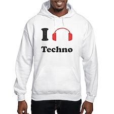 I <3 Techno Hoodie