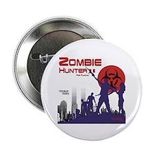 "Zombie hunter II 2.25"" Button"