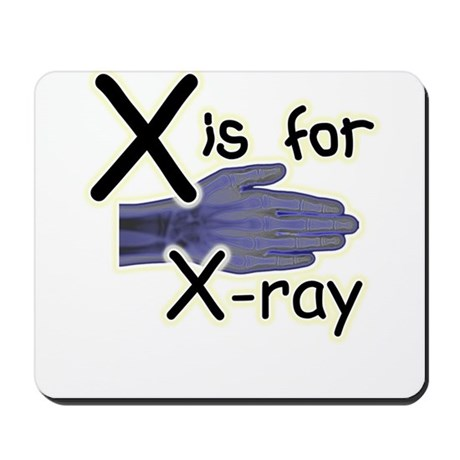 X is for X-ray Mousepad