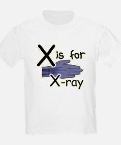 X is for X-ray T-Shirt