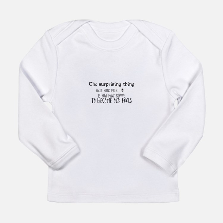 The surprising thing about you Long Sleeve T-Shirt