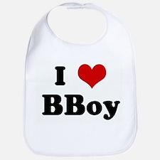 I Love BBoy Bib
