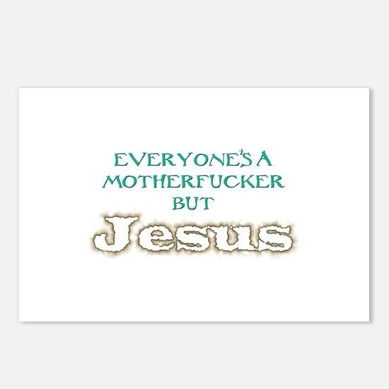 Everyone But Jesus Postcards (Package of 8)