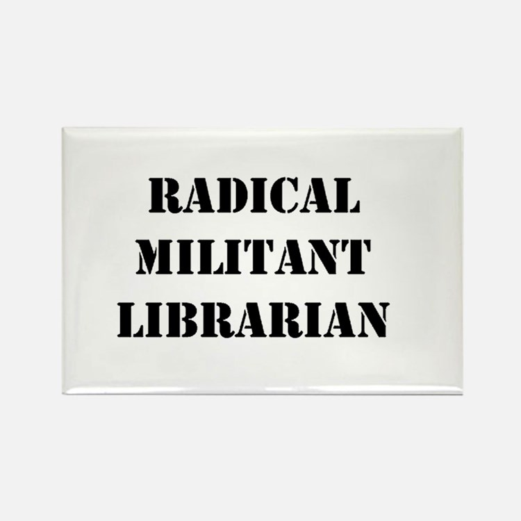 Cute Be an librarian Rectangle Magnet