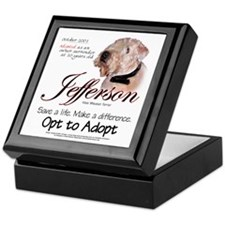 Jefferson Keepsake Box