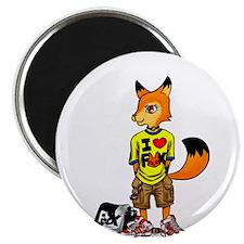 """Unique Fennec fox 2.25"""" Magnet (10 pack)"""