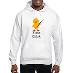 Flute Chick Hooded Sweatshirt