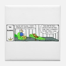 The Reckoning Tile Coaster